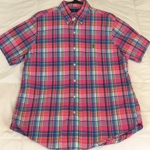 Like New Short Sleeve Button Down